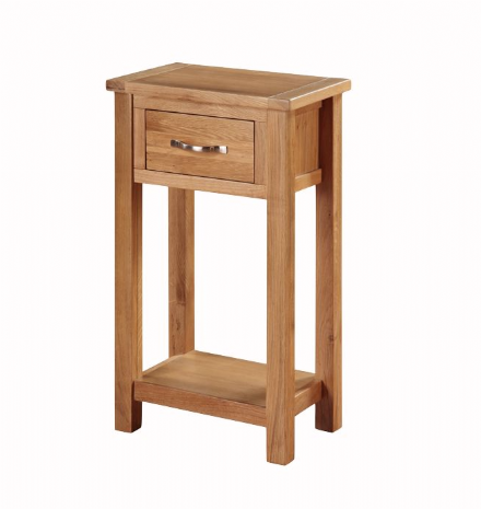 Hartford City Oak Medium Hall Table